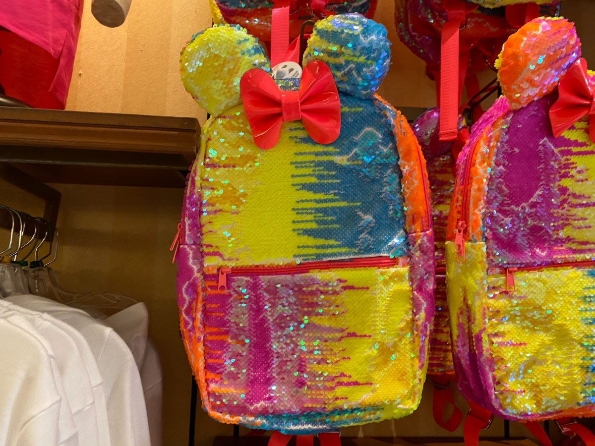 Reversible Sequined Minnie Mouse Backpack - $44.99