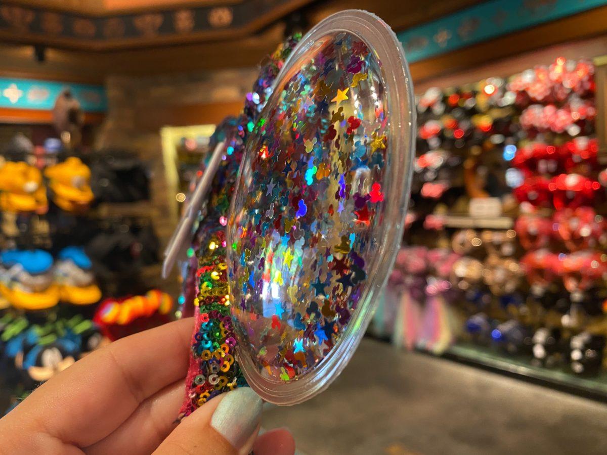 Rainbow Confetti Sequin Mickey Ear Headband - $29.99