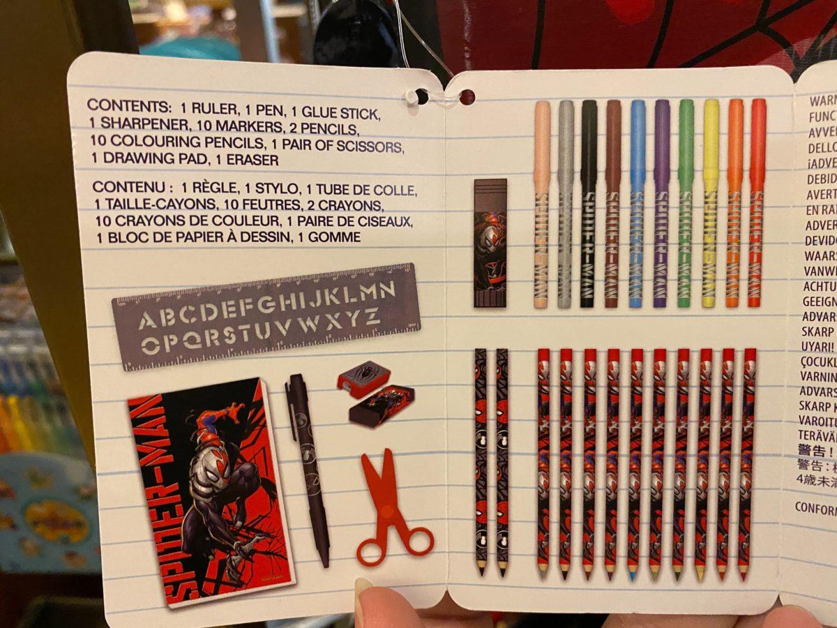 Spider-Man Stationery Kit - $24.99