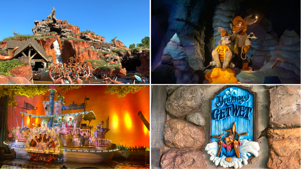 Photos Splash Mountain Reopens With Long Wait Times At The Magic