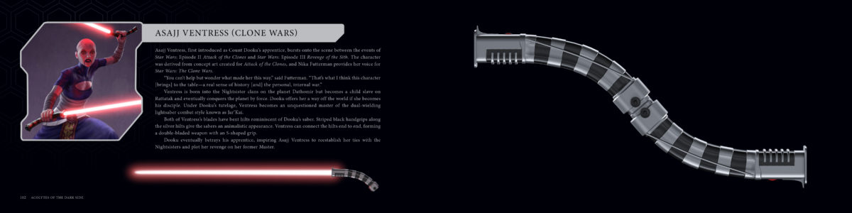 star wars lightsaber book sneak peek