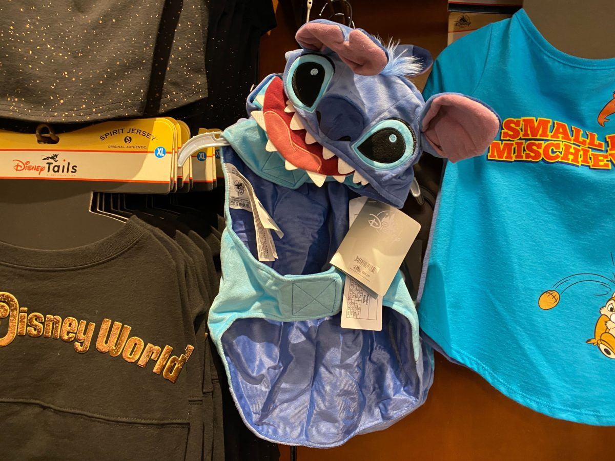 new stitch dog costume