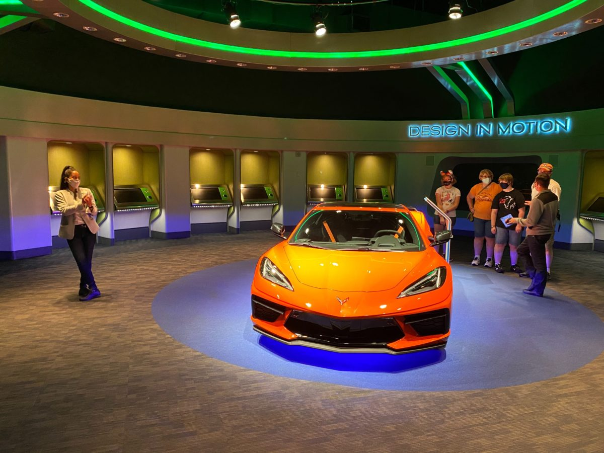 Chevrolet Show Room Reopens at Test Track Exit