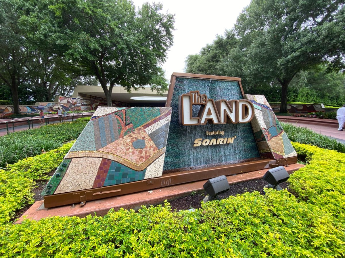 The Land Pavilion Now Utilizing One-Way Directions Throughout Pavilion