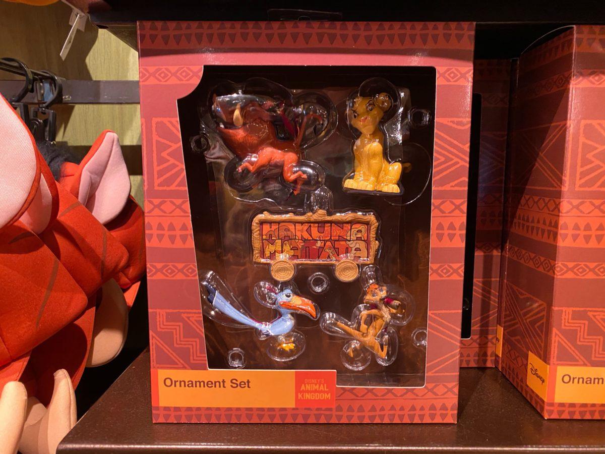 The Lion King Ornament Set - $39.99