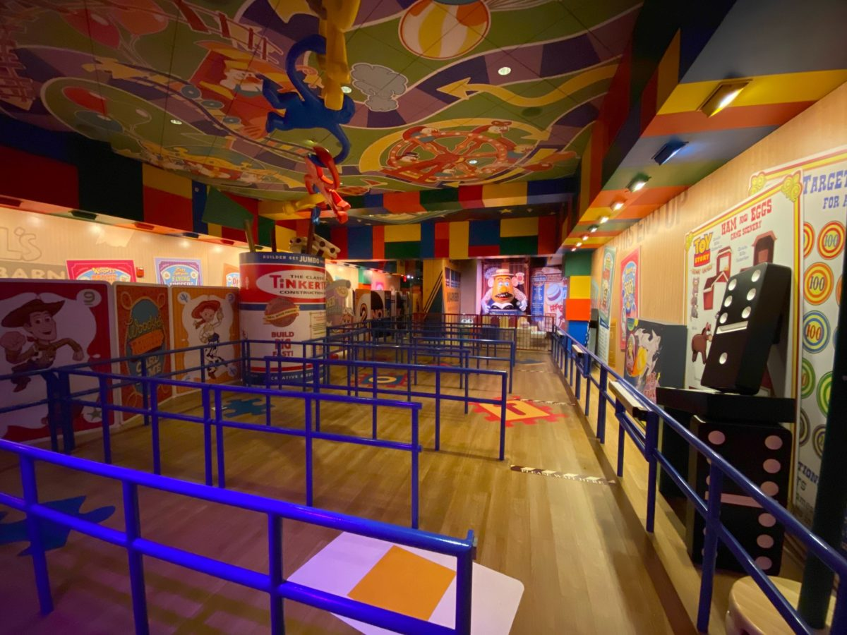 toy story mania reopening