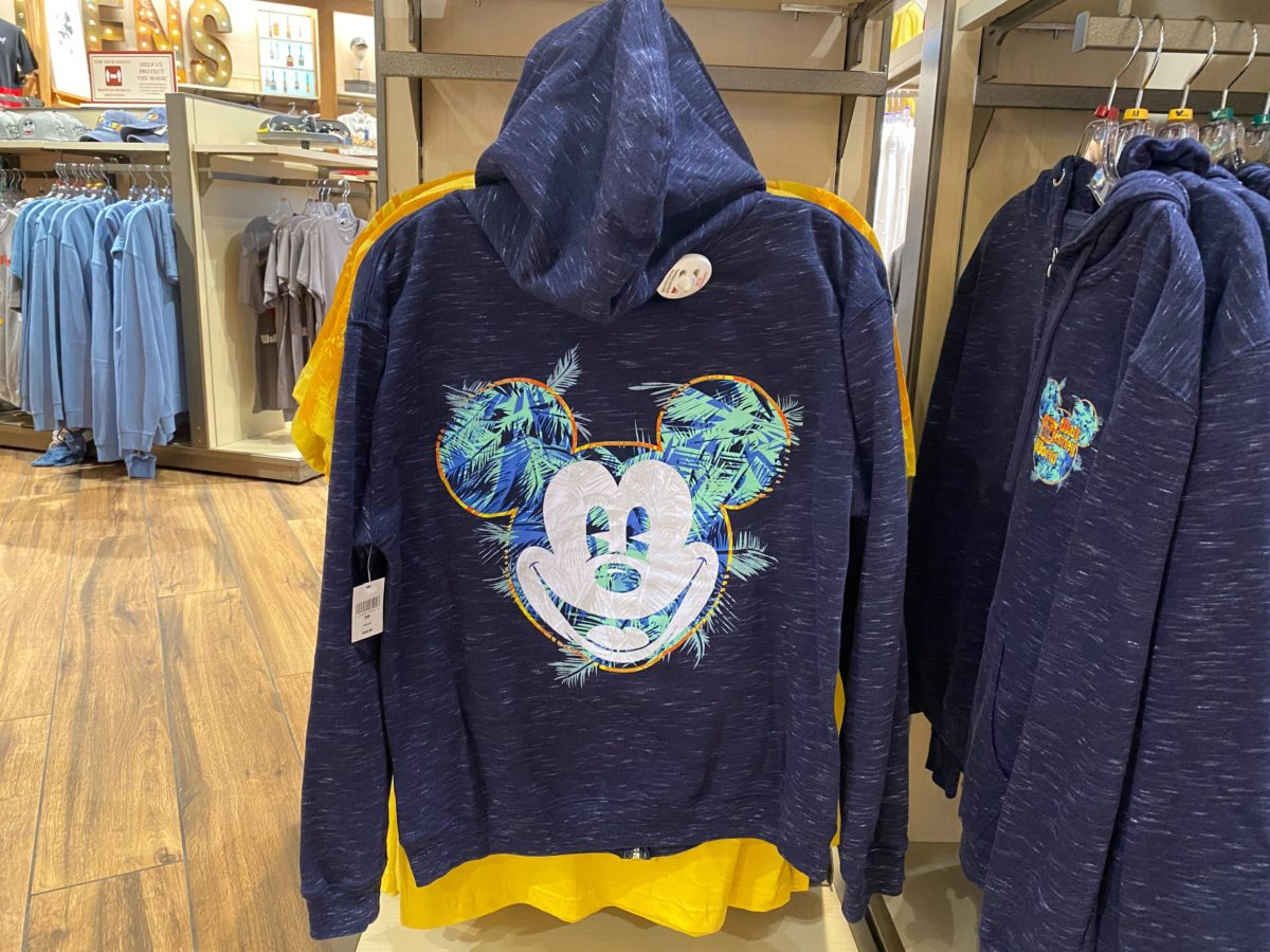 new tropical mickey mouse apparel
